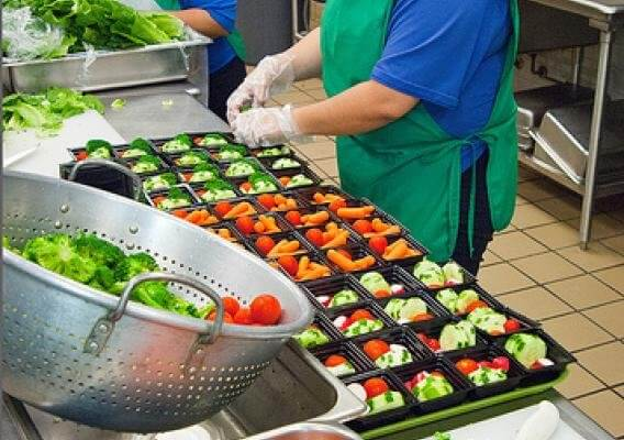 Food distribution needs to be quick with a wide variety of options