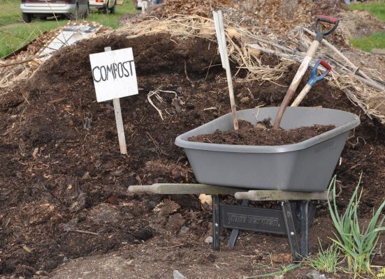 Composting helps you become a green restaurant