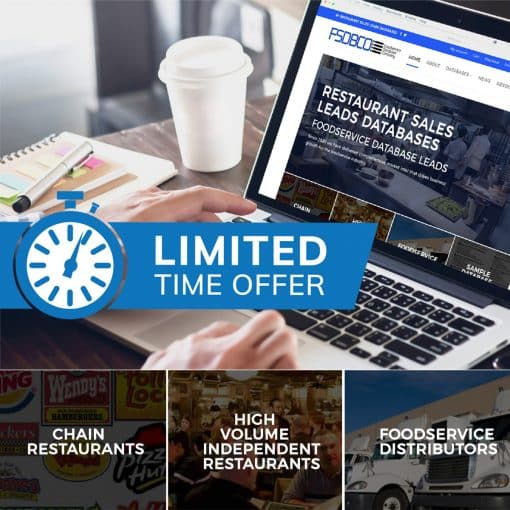 Foodservice Sales Leads Database Bundle